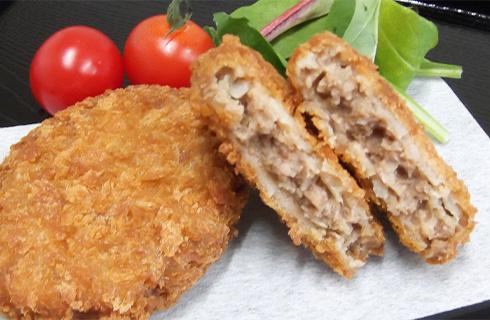 牛肉メンチカツ50調理例